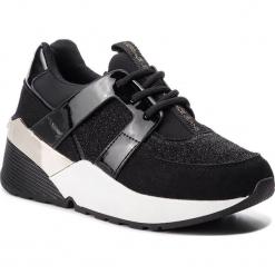 Sneakersy VERSACE JEANS - E0VSBSL2  70833 899. Czarne sneakersy damskie Versace Jeans, z jeansu. Za 699,00 zł.