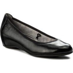 Creepersy damskie: Półbuty TAMARIS - 1-22421-20 Black Leather 003