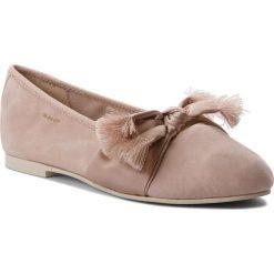 Baleriny GANT - Molly 16513519 Silver Pink G584. Czerwone baleriny damskie zamszowe GANT. W wyprzedaży za 249,00 zł.