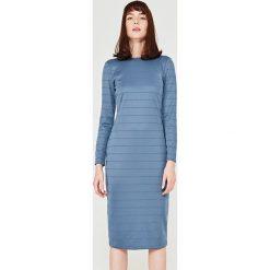 Długie sukienki: Simple - Sukienka