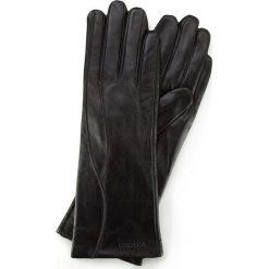 Rękawiczki damskie 39-6L-225-1. Czarne rękawiczki damskie marki Wittchen. Za 99,00 zł.
