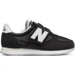 New Balance KV220BWY. Czarne buty sportowe chłopięce New Balance, z materiału. Za 99,99 zł.