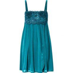 Bielizna nocna: Koszulka nocna bonprix niebieskozielony
