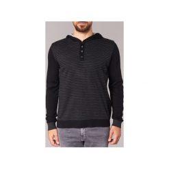 Swetry Yurban  DEREK. Czarne swetry klasyczne męskie Yurban, l. Za 127,20 zł.