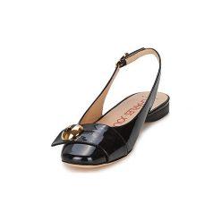 Sandały Charles Jourdan  COLOMBE 3. Czarne sandały damskie marki Charles Jourdan. Za 1039,20 zł.