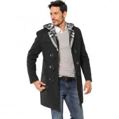 Płaszcz w kolorze czarnym. Czarne płaszcze na zamek męskie marki AVVA, Dewberry, na zimę, l. Za 489,95 zł.
