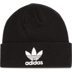 Czapka adidas - Trefoil Beanie BK7634 Black. Czarne czapki męskie Adidas, z materiału. Za 89,95 zł.