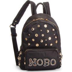 Plecak NOBO - NBAG-F4180-C020 Czarny. Czarne plecaki damskie Nobo, z materiału, klasyczne. W wyprzedaży za 209,00 zł.