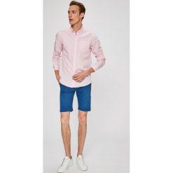 Casual Friday - Koszula. Czarne koszule męskie na spinki marki TOM TAILOR DENIM, l, z bawełny, button down, z długim rękawem. W wyprzedaży za 99,90 zł.