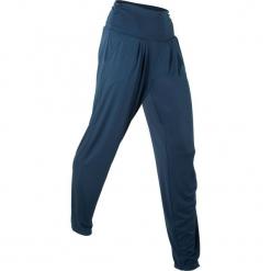 """Spodnie haremki """"wellness"""", długie, Level 1 bonprix ciemnoniebieski. Niebieskie bryczesy damskie bonprix, na fitness i siłownię. Za 74,99 zł."""