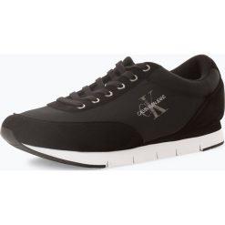 Calvin Klein Jeans - Tenisówki męskie, czarny. Czarne tenisówki męskie marki Calvin Klein Jeans, z jeansu. Za 349,95 zł.