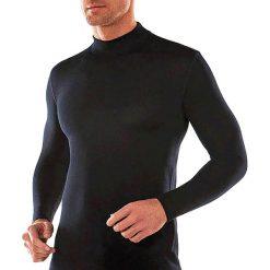 Podkoszulki męskie: T-shirt termoaktywny z golfem, długi rękaw