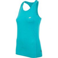 Damska koszulka sportowa 4F Dry Control. Zielone bluzki sportowe damskie Astratex, z materiału. Za 41,64 zł.