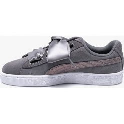 Puma - Buty Suede Heart LunaLux. Szare buty sportowe damskie marki Puma, z gumy. W wyprzedaży za 329,90 zł.
