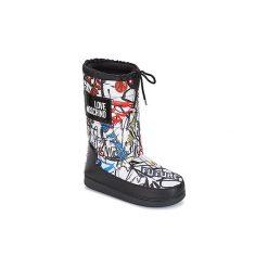 Śniegowce Love Moschino  MANADI. Czarne buty zimowe damskie Love Moschino. Za 679,00 zł.