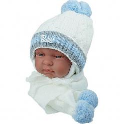 Czapka niemowlęca z szalikiem CZ+S 002A. Szare czapeczki niemowlęce Proman. Za 38,76 zł.