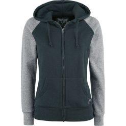 Bluzy damskie: Black Premium by EMP Farther Along Bluza z kapturem rozpinana damska zielony/szary