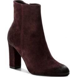 Botki BADURA - 7636-69-1338 Bordo. Czerwone buty zimowe damskie Badura, z materiału. W wyprzedaży za 289,00 zł.