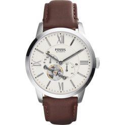 Zegarek FOSSIL - Townsman ME3064 Dark Brown/Silver/Steel. Różowe zegarki męskie marki Fossil, szklane. W wyprzedaży za 679,00 zł.