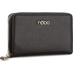 Duży Portfel Damski NOBO - NPUR-D1040-C020 Czarny. Czarne portfele damskie marki Nobo, ze skóry ekologicznej. W wyprzedaży za 79,00 zł.