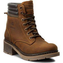 Botki LASOCKI - WI20-HARVARD-02 Brązowy Jasny. Brązowe buty zimowe damskie Lasocki, z nubiku. Za 199,99 zł.