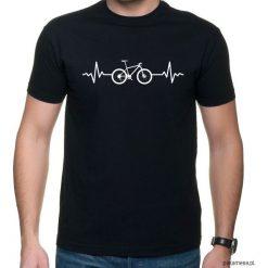 Koszulka T-SHIRT EKG MTB. Czarne t-shirty męskie z nadrukiem Pakamera, m. Za 75,00 zł.
