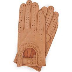 Rękawiczki damskie 46-6L-292-LB. Brązowe rękawiczki damskie Wittchen. Za 99,00 zł.