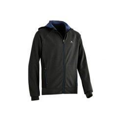 Bluza S900. Szare bluzy chłopięce rozpinane DOMYOS. W wyprzedaży za 74,99 zł.