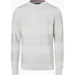Tommy Hilfiger - Sweter męski, beżowy. Brązowe swetry klasyczne męskie TOMMY HILFIGER, m. Za 229,95 zł.