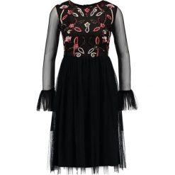 Sukienki hiszpanki: Lace & Beads Petite JUANITA  Sukienka koktajlowa black