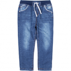 Spodnie. Niebieskie chinosy chłopięce COLLECTION JEANS BOY, z bawełny. Za 49,90 zł.