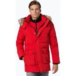 Superdry - Męska kurtka pikowana, czerwony. Czerwone kurtki męskie bomber Superdry, m. Za 849,95 zł.