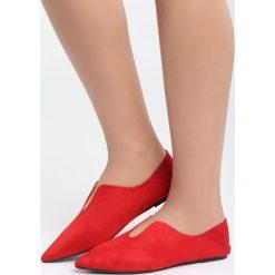 Czerwone Balerinki Have a Dream. Czerwone baleriny damskie marki Born2be, z materiału, na płaskiej podeszwie. Za 34,99 zł.