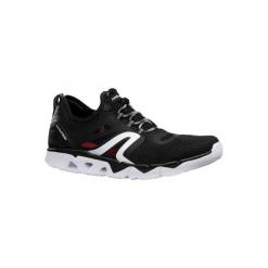 Buty męskie do szybkiego marszu PW 500 Fresh czarne. Czarne buty fitness męskie marki Asics. Za 129,99 zł.
