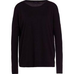 Polo Ralph Lauren FINE GAUGE BLEND Sweter black. Czarne swetry klasyczne damskie Polo Ralph Lauren, l, z materiału, polo. Za 549,00 zł.