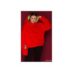 Bluza FakaFutro-  Fake Fur- True Luv. Czarne bluzy sportowe damskie marki DOMYOS, z elastanu. Za 390,00 zł.