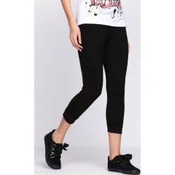 Spodnie dresowe damskie: Czarne Spodnie Dresowe Home