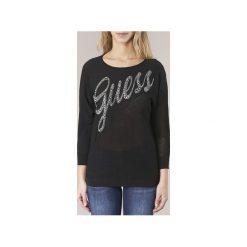 Swetry Guess  LALEXIO. Niebieskie swetry klasyczne damskie marki Guess, z materiału. Za 244,30 zł.