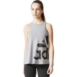 Bluzki damskie: Adidas Koszulka damska ADI AOP szara r. S (CD8457)