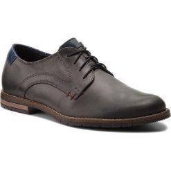 Półbuty SERGIO BARDI - Cannara SS127320118GR  109. Szare buty wizytowe męskie Sergio Bardi, z materiału. W wyprzedaży za 189,00 zł.