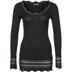 Rosemunde Bluzka z długim rękawem schwarz. Czarne bluzki longsleeves Rosemunde, l, z bawełny. Za 369,00 zł.