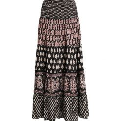 Isla Ibiza Bonita SKIRT LONG Długa spódnica mix print black. Białe długie spódnice marki Bosari, l, w geometryczne wzory. Za 379,00 zł.