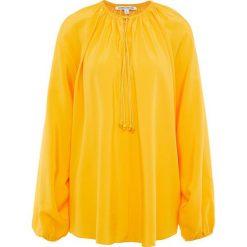 Elizabeth and James CHANCE Bluzka saffron. Żółte bluzki asymetryczne Elizabeth and James, z jedwabiu. W wyprzedaży za 791,55 zł.