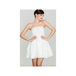 Sukienka K223 Ecru. Niebieskie sukienki na komunię marki Reserved, z odkrytymi ramionami. Za 129,00 zł.