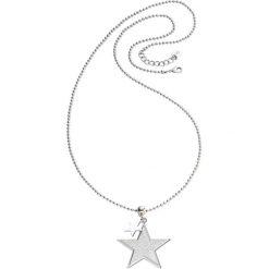 Łańcuszki damskie: Łańcuszek z gwiazdami bonprix srebrny kolor