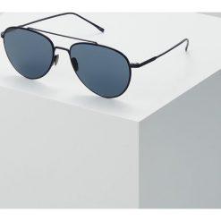 Lacoste Okulary przeciwsłoneczne matte blue. Niebieskie okulary przeciwsłoneczne męskie wayfarery Lacoste. W wyprzedaży za 503,20 zł.