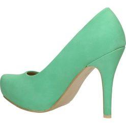 CZÓŁENKA CASU AH85602-7. Zielone buty ślubne damskie Casu. Za 49,99 zł.