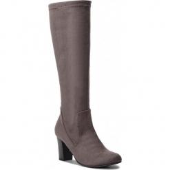 Kozaki CAPRICE - 9-25502-21 Dk Grey Stretc 250. Szare buty zimowe damskie Caprice, z materiału. Za 249,90 zł.