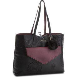 Torebka DESIGUAL - 18WAXPCW 2000. Czarne torebki klasyczne damskie marki Desigual, ze skóry ekologicznej. W wyprzedaży za 249,00 zł.