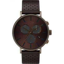 Timex - Zegarek TW2R80100. Czarne zegarki męskie marki Fossil, szklane. Za 549,90 zł.